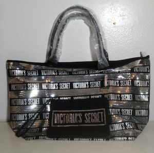 New VICTORIAS SECRET Limited Edition Black Silver